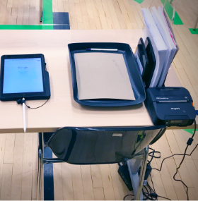 Mobile Printing During COVID testing