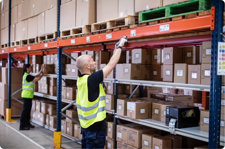 Scanning in Warehouse
